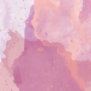 pink watercolor print